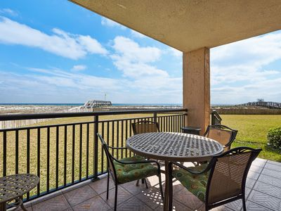 """Photo for """"The Palms"""" Beautiful Rental! Just listed only Steps to the Gulf of Mexico"""
