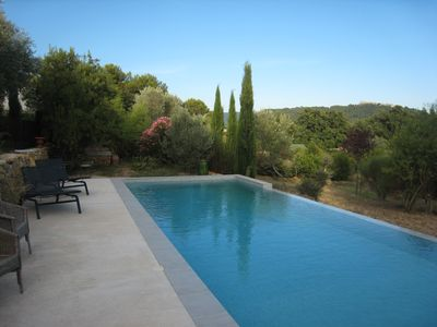 Photo for Quiet house with pool in the heart of the vineyards