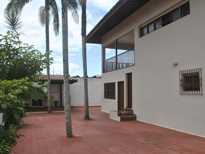 Photo for House with 4 bedrooms, barbecue, for 14 people near the Tenório and Praia Grande