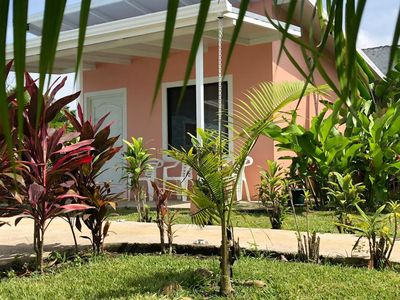 Photo for Brand new coral bungalow w/Arenal Volcano view