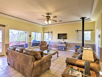 Photo for NEW! Waterfront Granbury Home w/ Deck & Boat Dock!