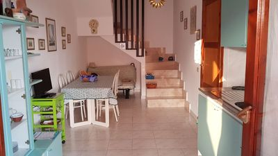Photo for Nice apartment a few steps from the heart of the village (Villasimius)