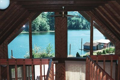 beautiful view from the loft