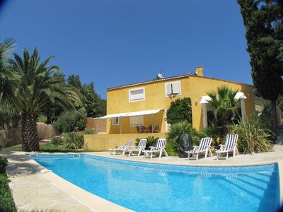 Photo for Air conditioned property, heated pool between Cannes, Frejus & Mandelieu