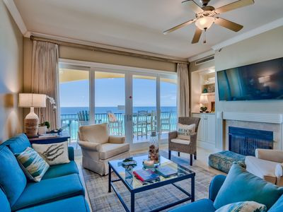 Photo for Adagio A403 gulf front w/bunk rm, pools, beaches open,WEEK OF AUGUST 1-8 OPEN