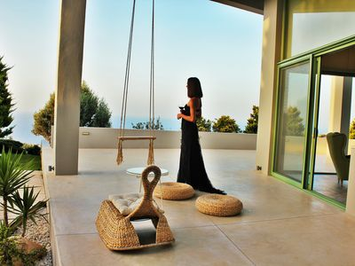 Photo for Mama La Roosa Luxury Villa  with Panoramic Sea View and large swimming pool