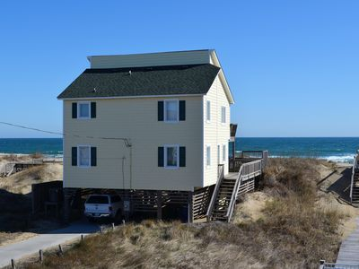 Photo for Ocean Front, WIFI ,  Away from the crowds but close to Restaurants and Shopping