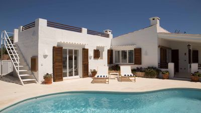 Photo for Villa with Air Con in all bedrooms, Private Pool And Sea Views