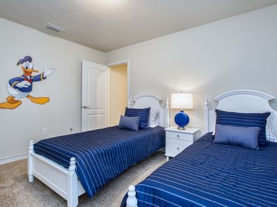 Photo for Great pool &Hot Tub*New Home*Modern Home*10 mins Disney*Clubhouse and Bar*Wifi
