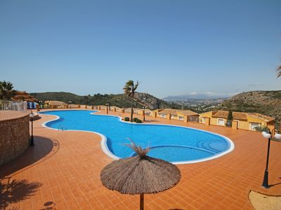 Photo for Superb two bedroom luxury apartment with valley views and communal swimming pool