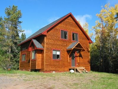 Photo for Spacious Newly Built Home  Nestled In The Woods Walk/bike To Town