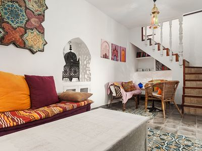 Photo for Exclusive apartment with roof terrace in the old town - Precioso apartamento en Vejer con terraza