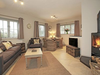 Photo for Woodpeckers Cottage - One bedroom luxurious and Contemporary rural retreat