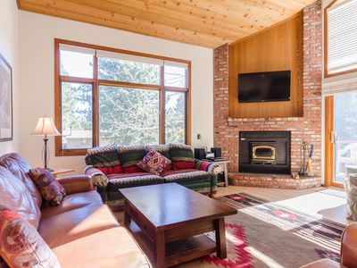 Photo for Woodlands: 2BR/Loft/2BA Sleeps 8  Beautiful Mountain Retreat, Winter & Summer