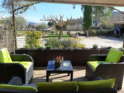 Photo for La petite Galejade is an independent gîte in our rural farmhouse, in Gordes