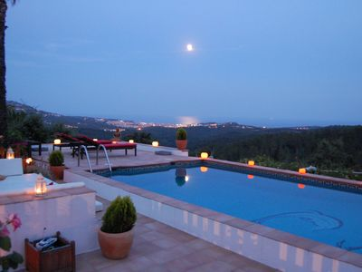 Photo for Spectacular views, privacy & nature. Private pool/garden.Perfect for kids & pets