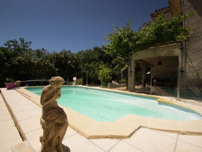 Photo for Apartment in a villa with shared pool in La Ciotat, 5 min from the beach!