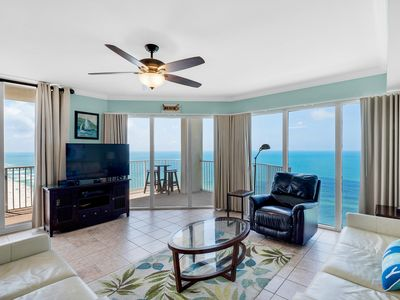 Photo for BeachFRONT☀In/Outdoor Pools+Hot Tubs☀2Step Sanitizing Process☀3BR Tidewater 2117