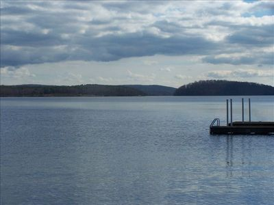 Photo for Custom Home on Badin Lake. Private Pier  Spacious, Serenity!