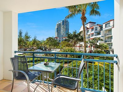 Photo for Calypso Plaza Resort Unit 215 Beachfront Studio Apartment