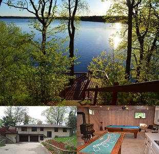 Photo for Beautiful Lake Home ~ 1 Hour North Of Twin Cities - Excellent Fishing And Rec.