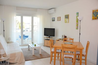 2 ROOMS - ACQUAMARINA - BEACH - RESTAURANTS - SHOP - WIFI - AIR CON -  Villeneuve Loubet Beach