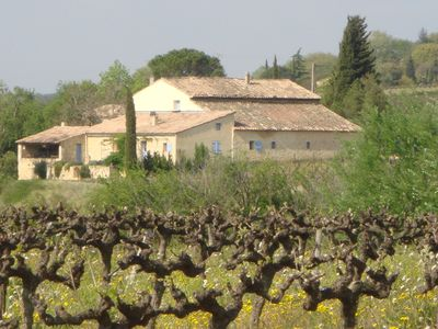 Photo for Gite in Provencal farmhouse warm welcome close to the Ardèche Gorges