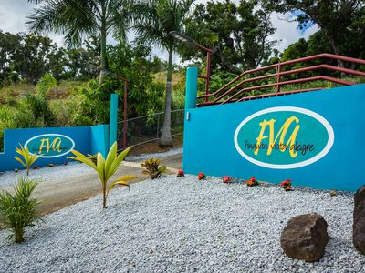 Photo for Secluded OCEAN VIEW 2 bed 2 bath Home, convenient to Ceiba Ferry. King and Queen
