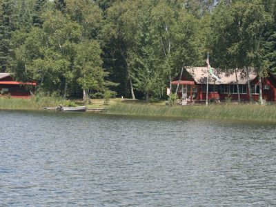 Photo for Big Mantrap Lake  -- Family Cabin On the Water!