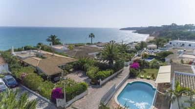 Photo for Villa Praia Maria Luisa - Beachfront villa just 100m from the beach