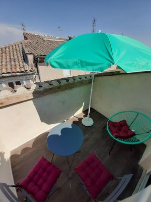 Photo for Apartment 103 refurbished !!!07/2019 !!35 m2 with terrace (sleeps 3)