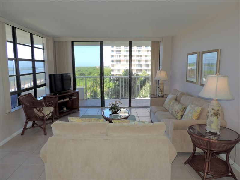 Beachfront 2 Bed, 2 Bath condo with large balcony and unobstructed view of the beach. Located in South Seas Tower 3 near Tigertail Beach