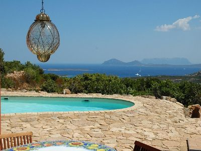 Photo for Villa sea view+pool, close Golf Club, fully air conditioned, ALL INCLUSIVE RATE
