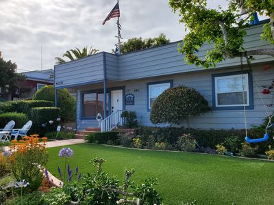 Photo for Pacific Beach House 4BR/2BA House w/Ocean Views & Steps to the Beach!!