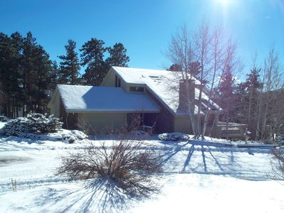 Photo for 4BR House Vacation Rental in Evergreen, Colorado