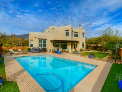 Photo for Dog-friendly, Tucson home with ping-pong table, private pool & free WiFi!