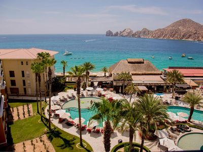 Photo for Penthouse Suite with Terrace Hot Tub, BBQ Views of Sea of Cortez & Lands End!!