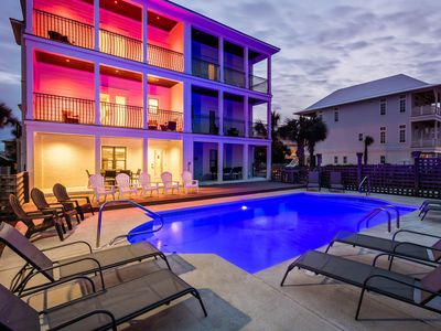 Photo for Shared Pool! Gulf Views and directly across from Beach Access!