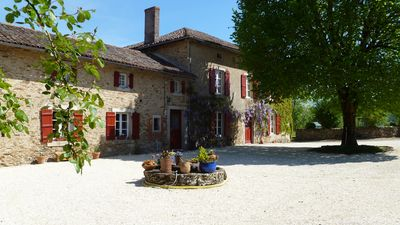Photo for Beautiful 200 year old large farmhouse with private pool set in 75 acres