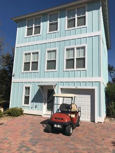 Photo for Beautiful 30A Beach House minutes from Ocean - Golf Cart Included