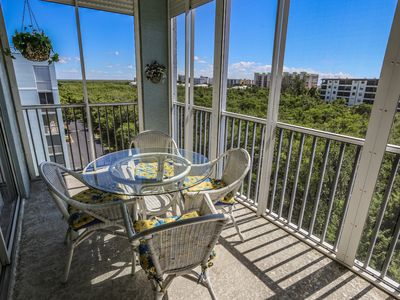 Photo for Welcome to Captains Bay Penthouse 501. 2/2 condo across the street from the beach.