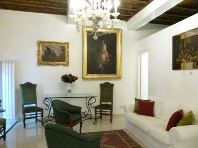 Photo for Perfect Spacious Sophisticated Luxury-Refined Spanish Steps-AC-Lift-Free WiFi