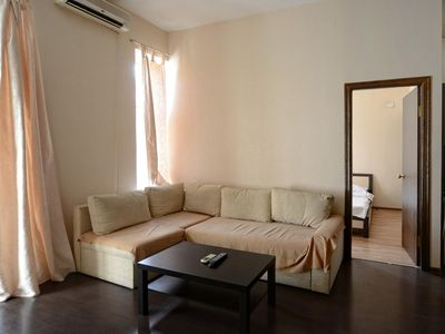 Photo for Modern furnished flat near McDonald's and Lva Tolstogo metro Station