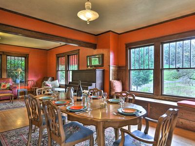 Photo for NEW! Historic Craftsman on Working Newberg Farm!