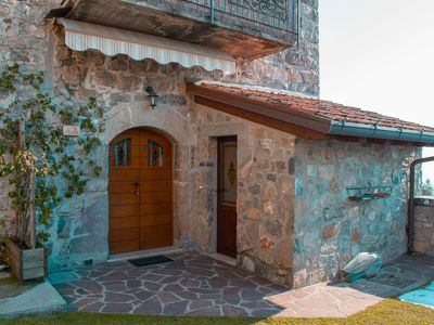 Photo for Nice studio with lake view in Zorzino castle, Adele apartment