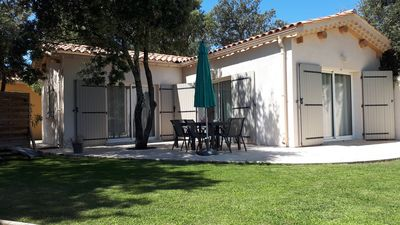 Photo for 3 * charming cottage with Mont Ventoux view