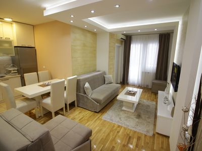Photo for Visit BELGRADE stay in luxury apartment for five persons