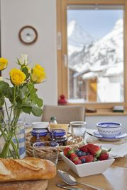 3 Beautifully Furnished Apartments With Stunning Matterhorn Views  -  The Mischabel