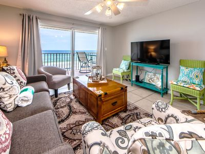 Photo for ☀️The Palms 403☀️2BR Bchfront! June 19 to 21 $974 total! Pool & Grills- Fun Pass