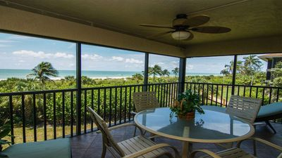 Photo for Sanddollar #C204  Beautiful Sanibel condo on the beach, gorgeous view, pool and tennis